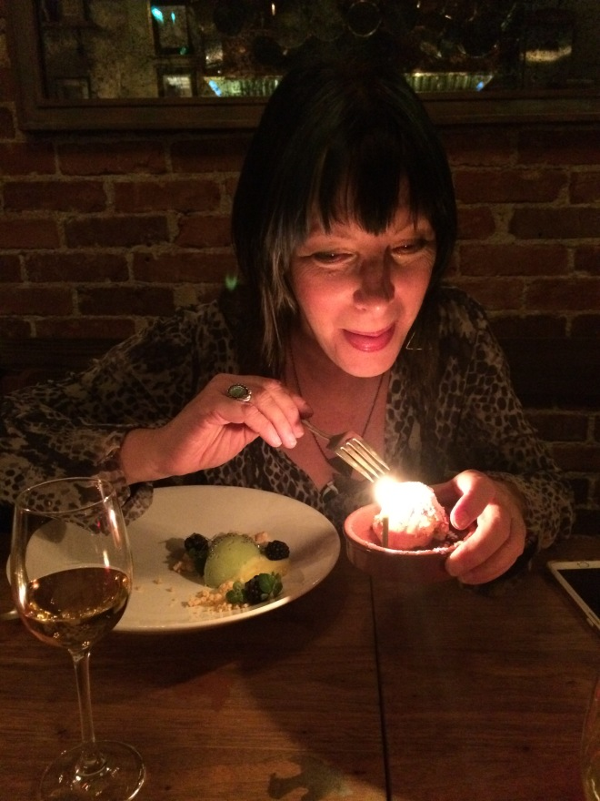 A delicious birthday treat at my favorite Portland restaurant: Le Pigeon