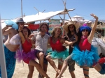 Tutu Tuesday--the day everyone wears Tutus at Burning Man.